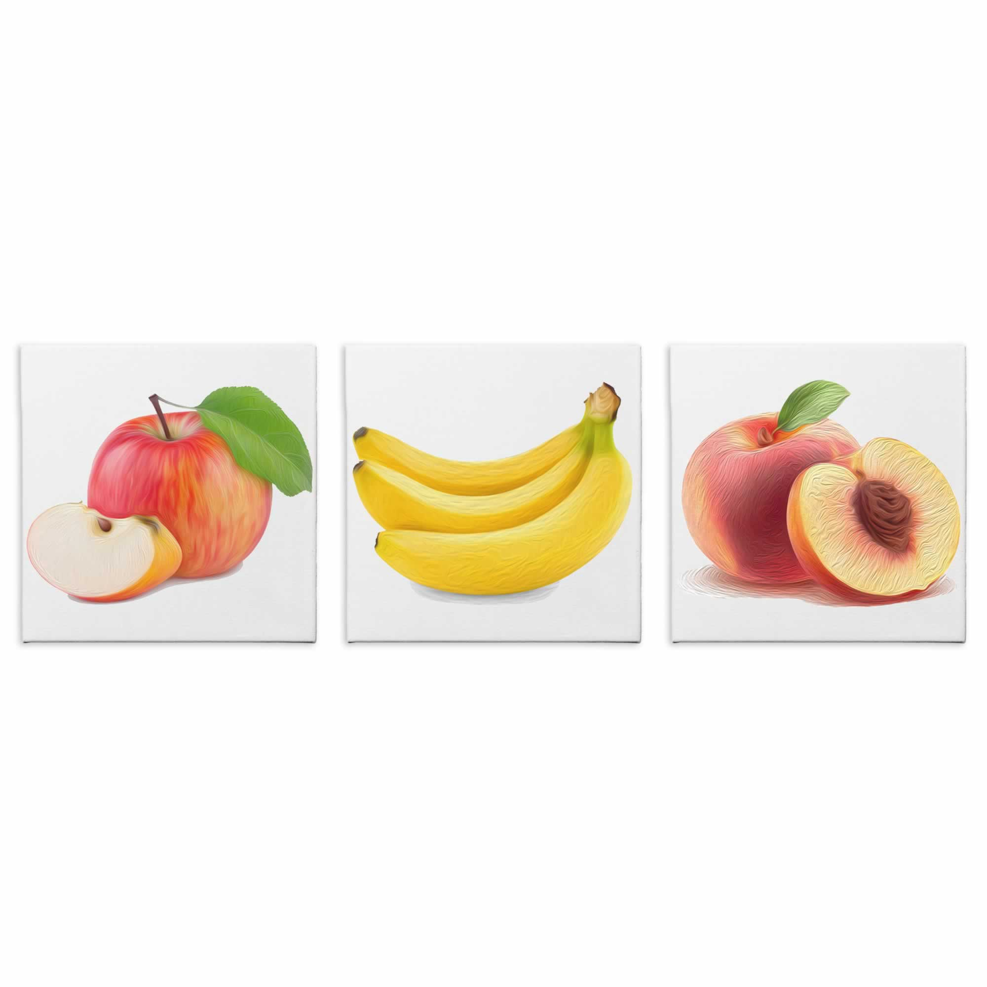 Fruit Salad - Contemporary giclee Painting Print on Canvas