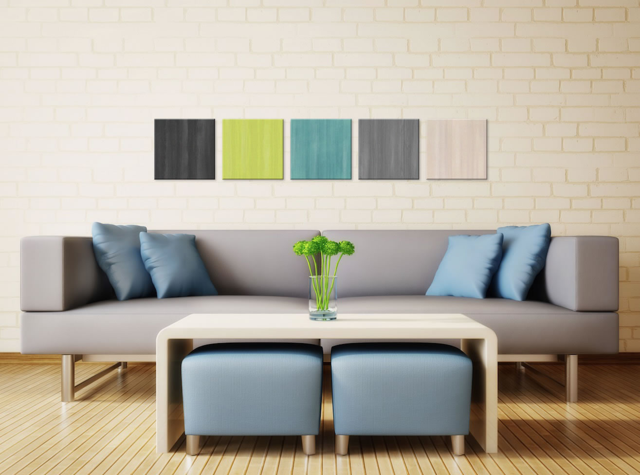 Natural Balance - Colorful Contemporary Accents by Celeste Reiter - Lifestyle Image