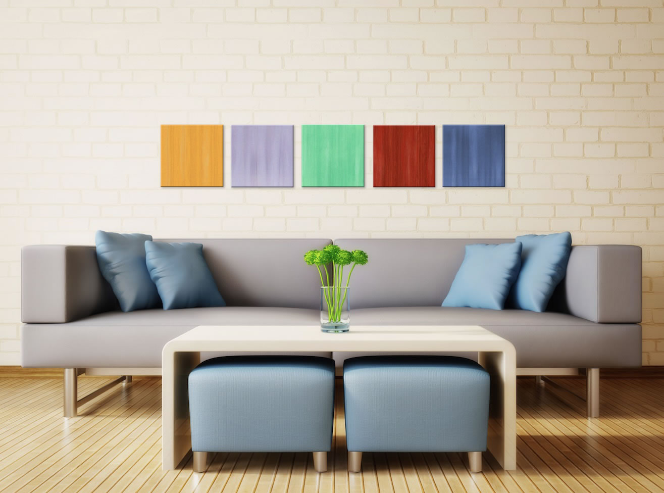 Spring - Colorful Contemporary Accents by Celeste Reiter - Lifestyle Image