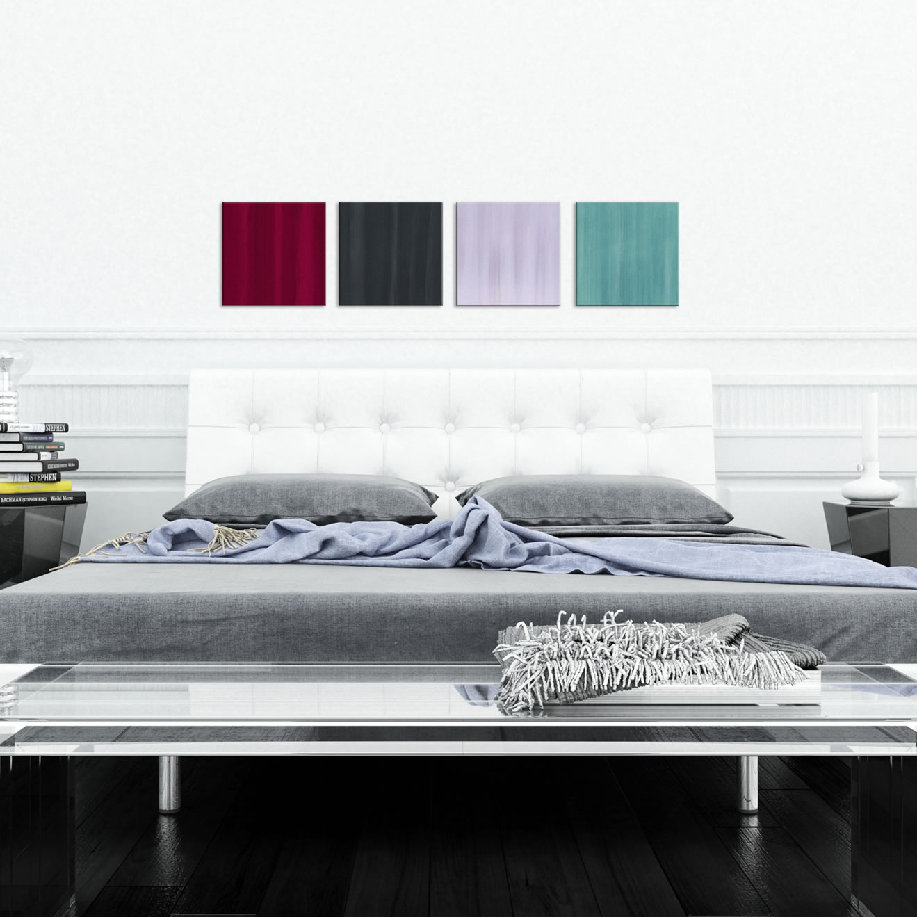 Velvet - Colorful Contemporary Accents by Celeste Reiter