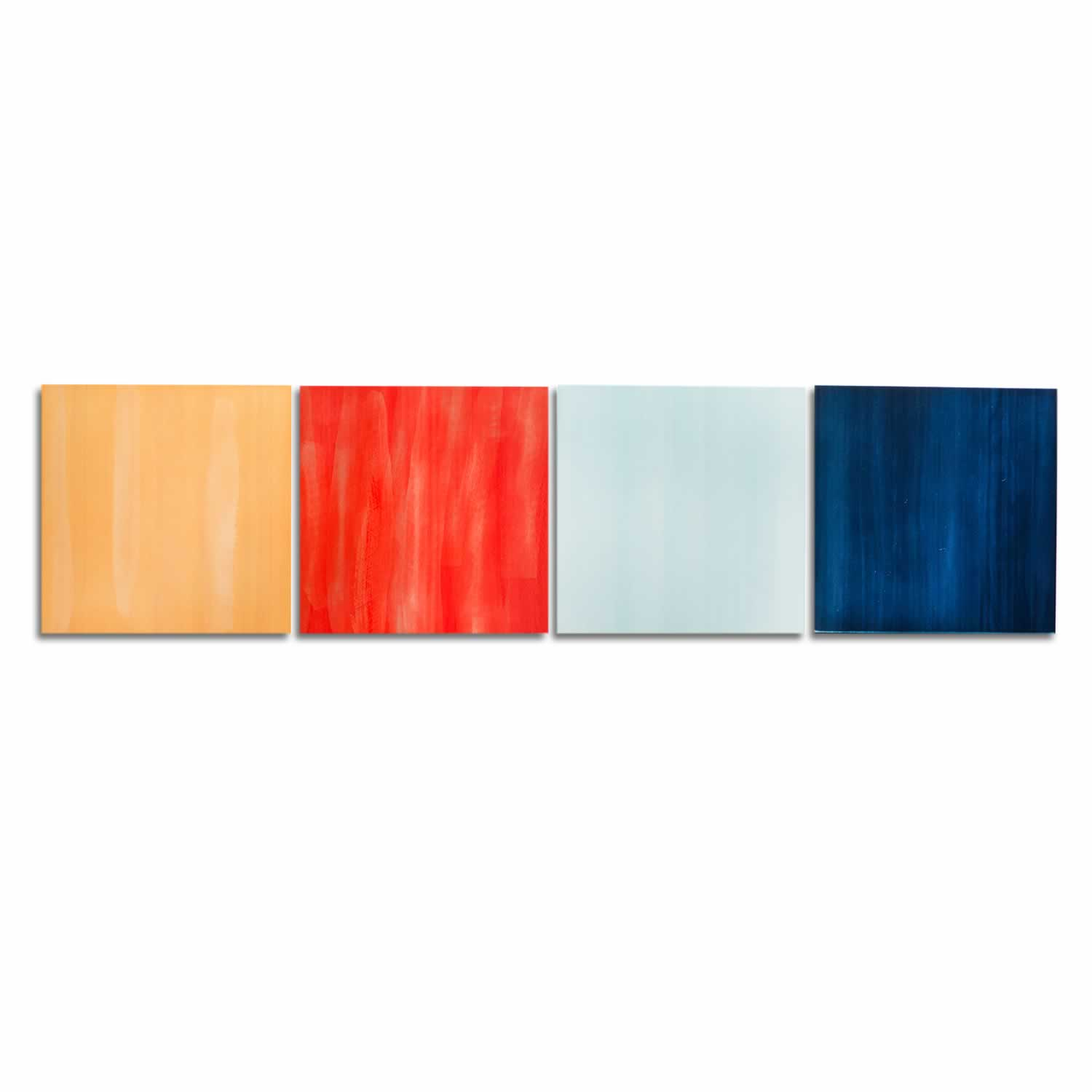 Hot and Cold - Colorful Contemporary Accent Panels