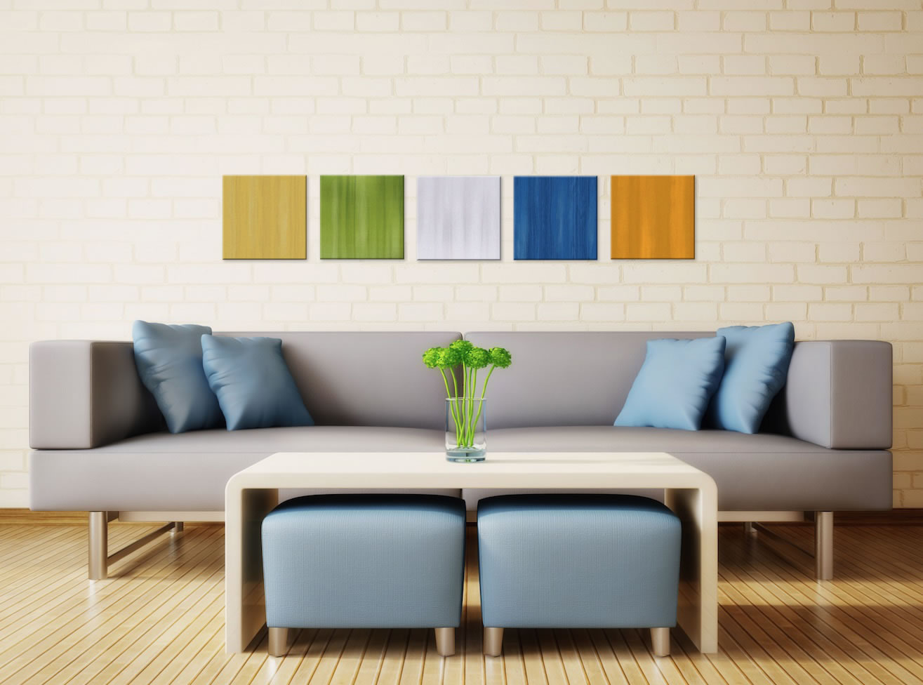 Summer Drink - Colorful Contemporary Accents by Celeste Reiter - Lifestyle Image