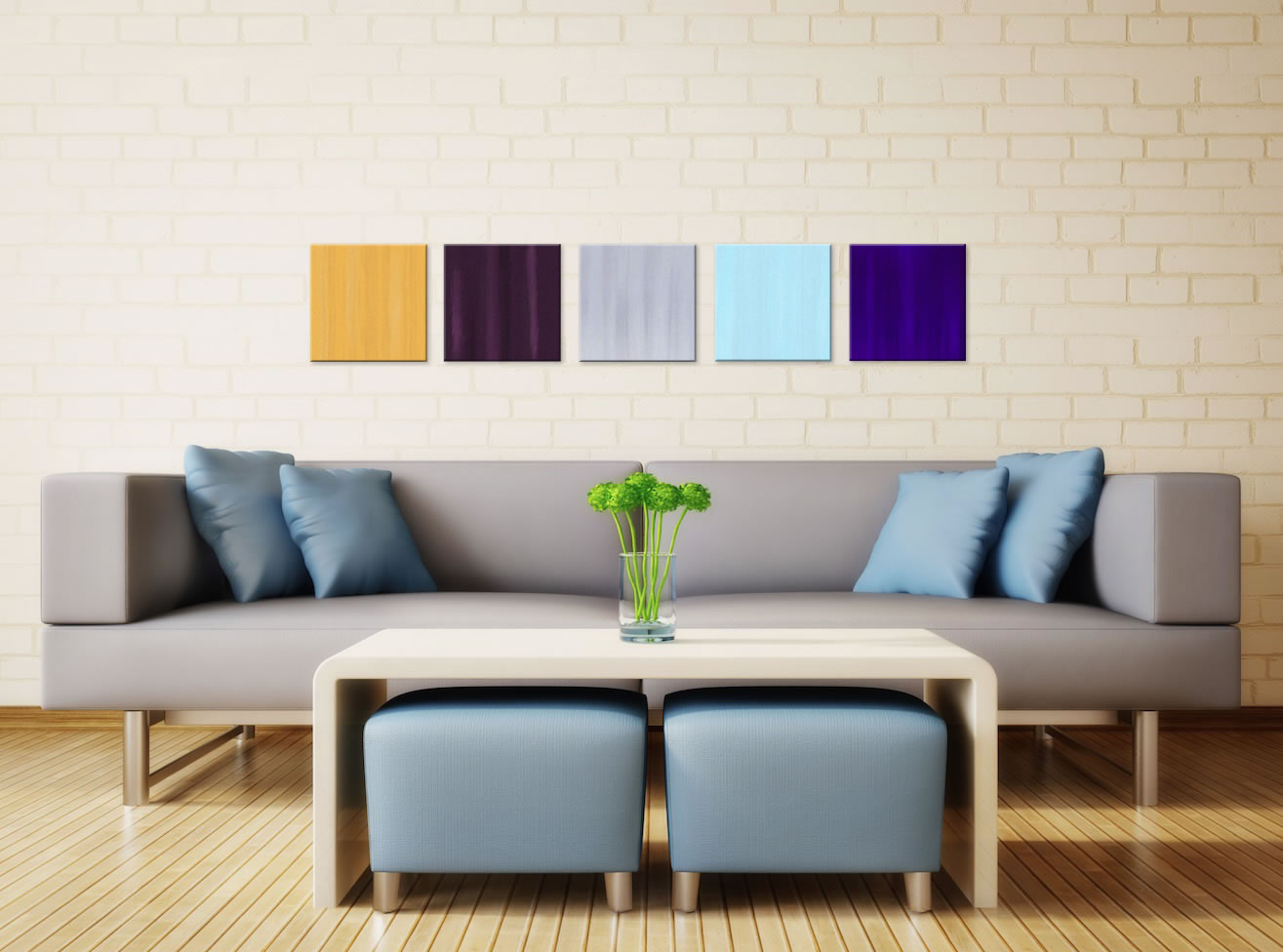 Dazzle - Colorful Contemporary Accents by Celeste Reiter - Lifestyle Image