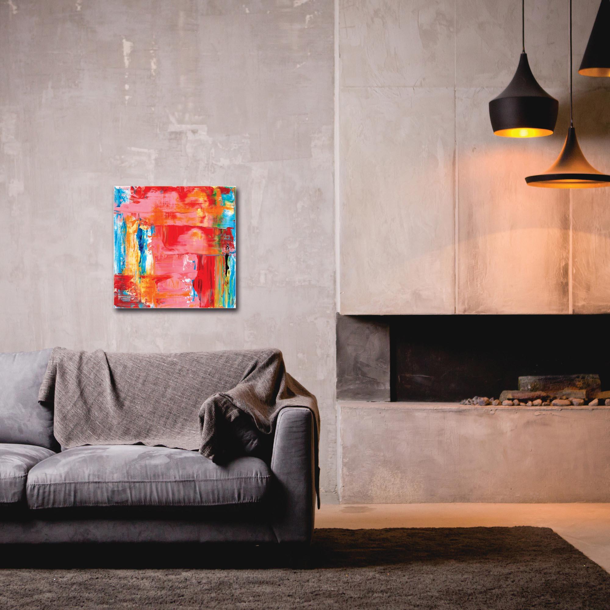 Abstract Wall Art 'Urban Life 1' - Urban Decor on Metal or Plexiglass - Image 3