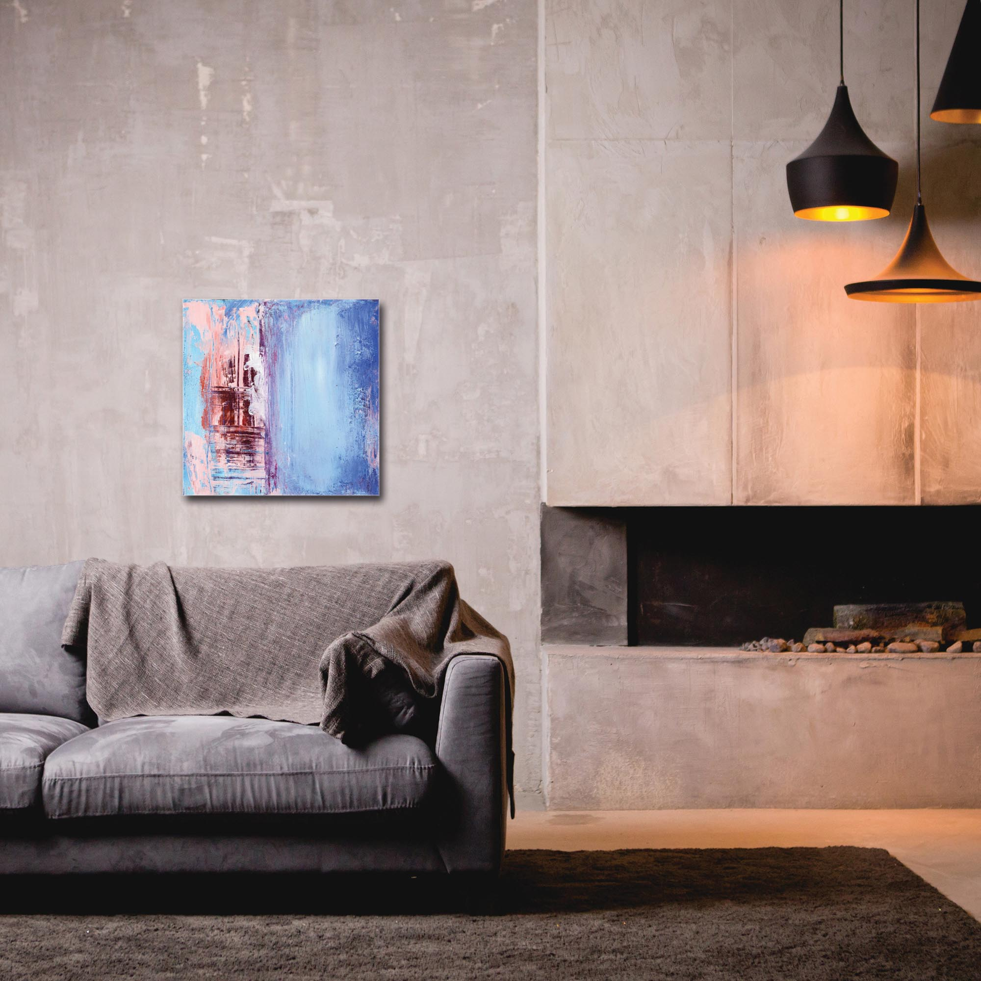 Abstract Wall Art 'Urban Life 2' - Urban Decor on Metal or Plexiglass - Image 3