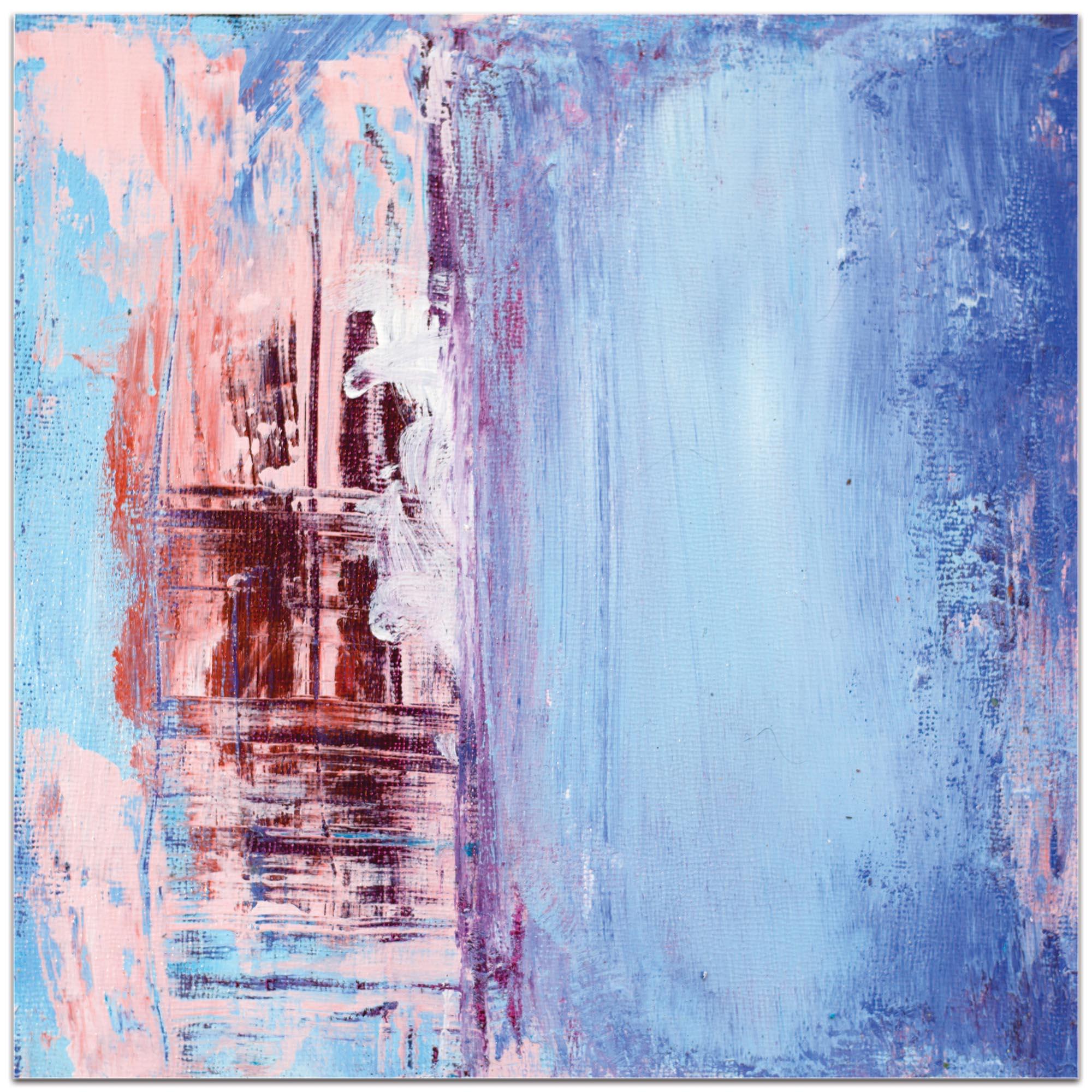 Abstract Wall Art 'Urban Life 2' - Urban Decor on Metal or Plexiglass - Image 2