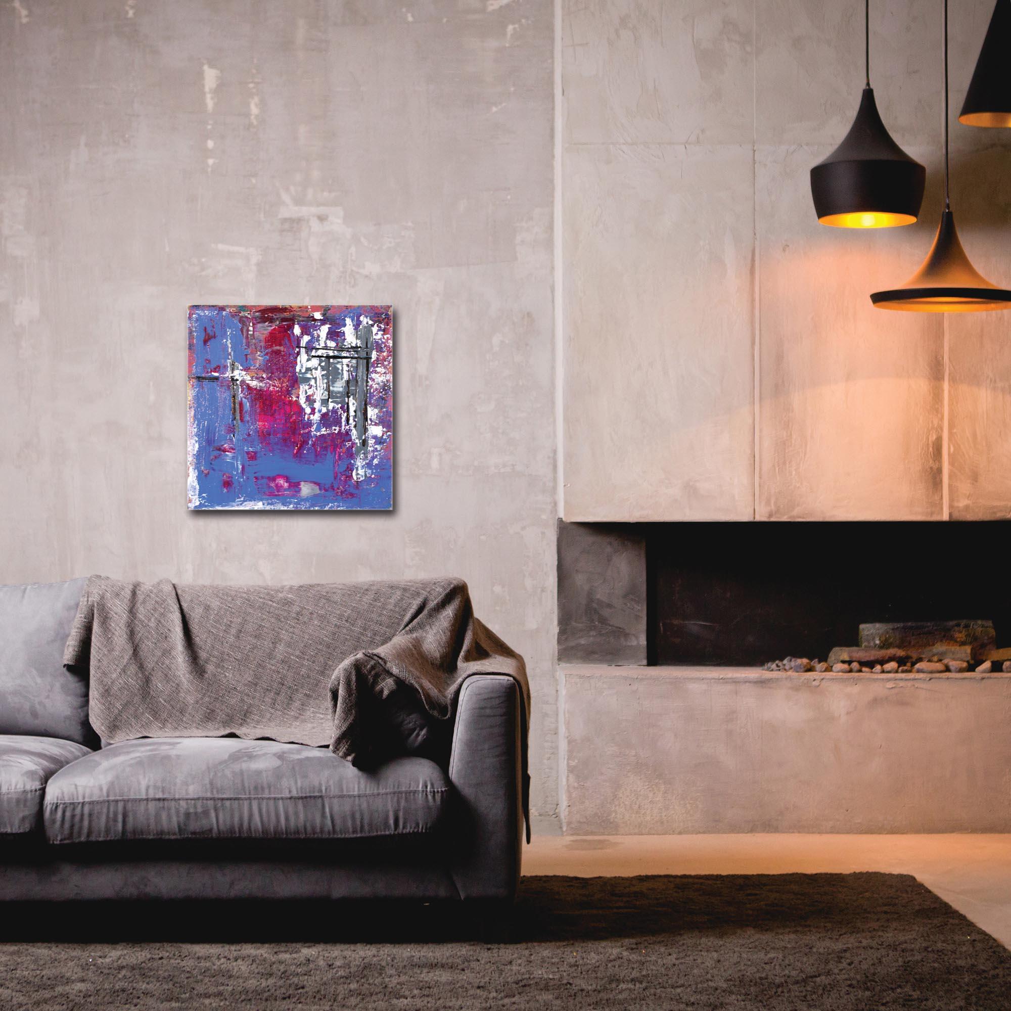Abstract Wall Art 'Urban Life 7' - Urban Decor on Metal or Plexiglass - Image 3