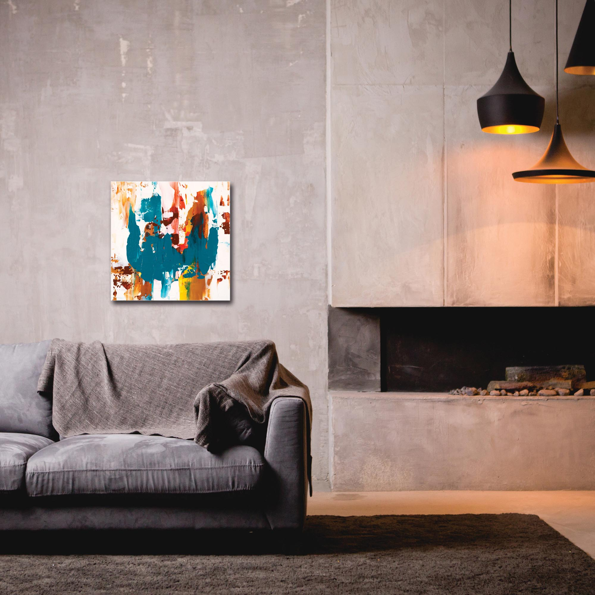 Abstract Wall Art 'Urban Life 8' - Urban Decor on Metal or Plexiglass - Image 3