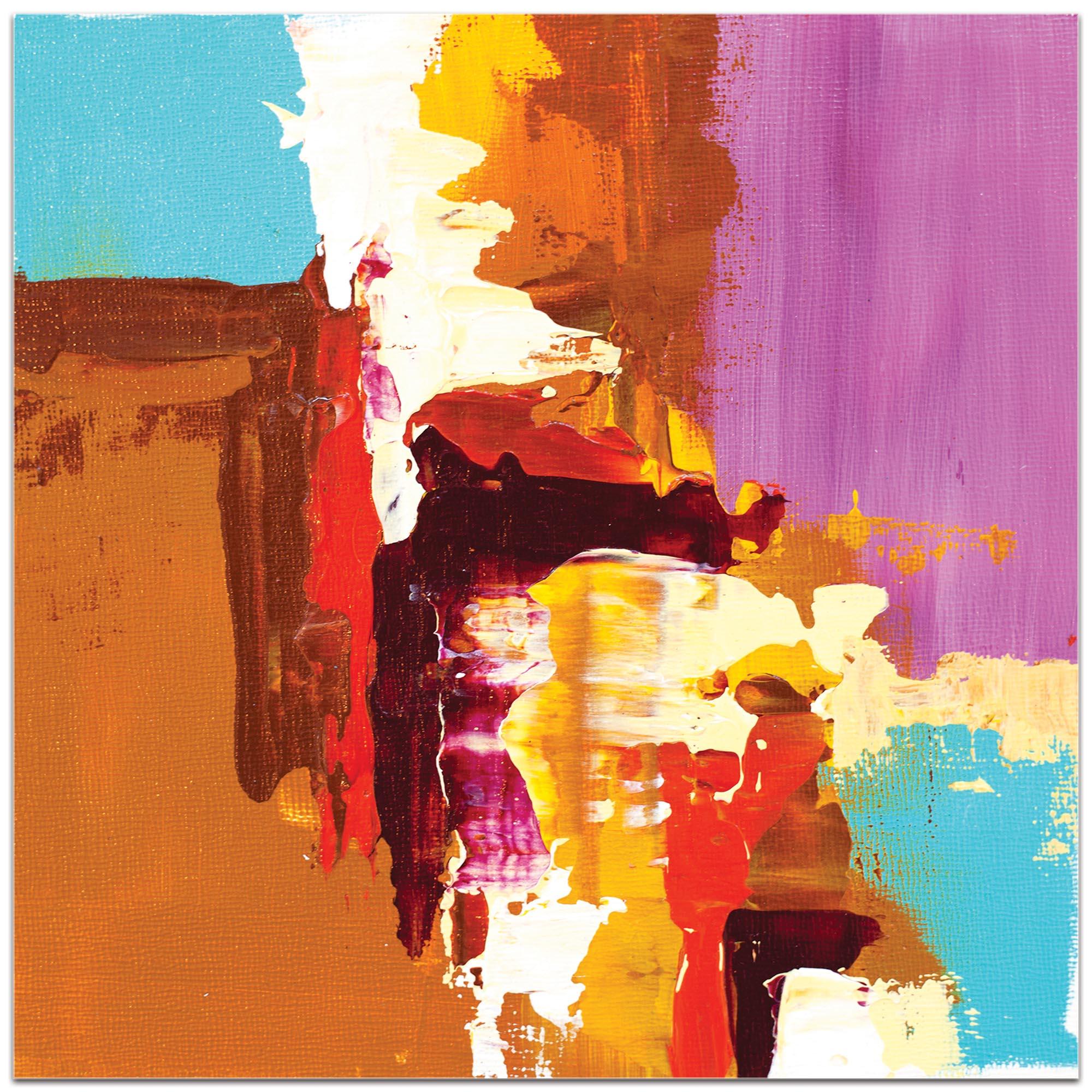 Abstract Wall Art 'Urban Life 12' - Urban Decor on Metal or Plexiglass - Image 2