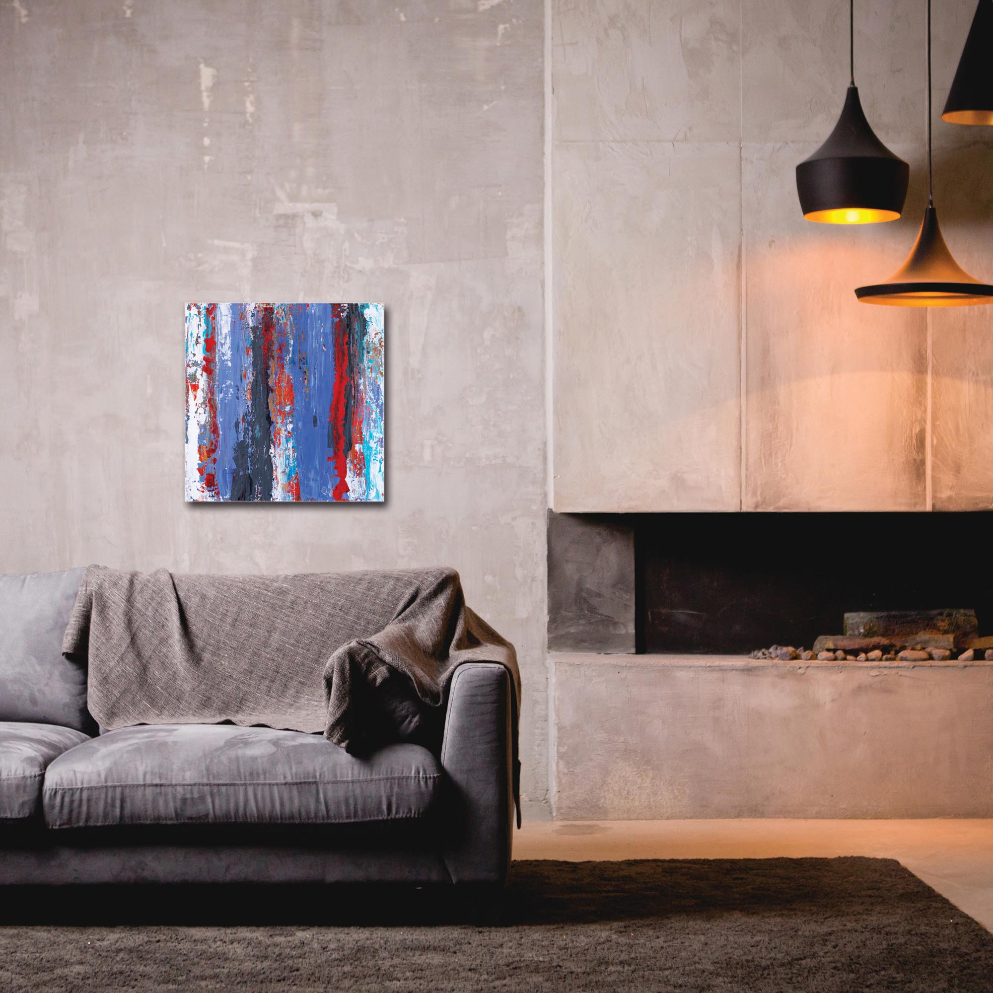 Abstract Wall Art 'Urban Life 15' - Urban Decor on Metal or Plexiglass - Image 3