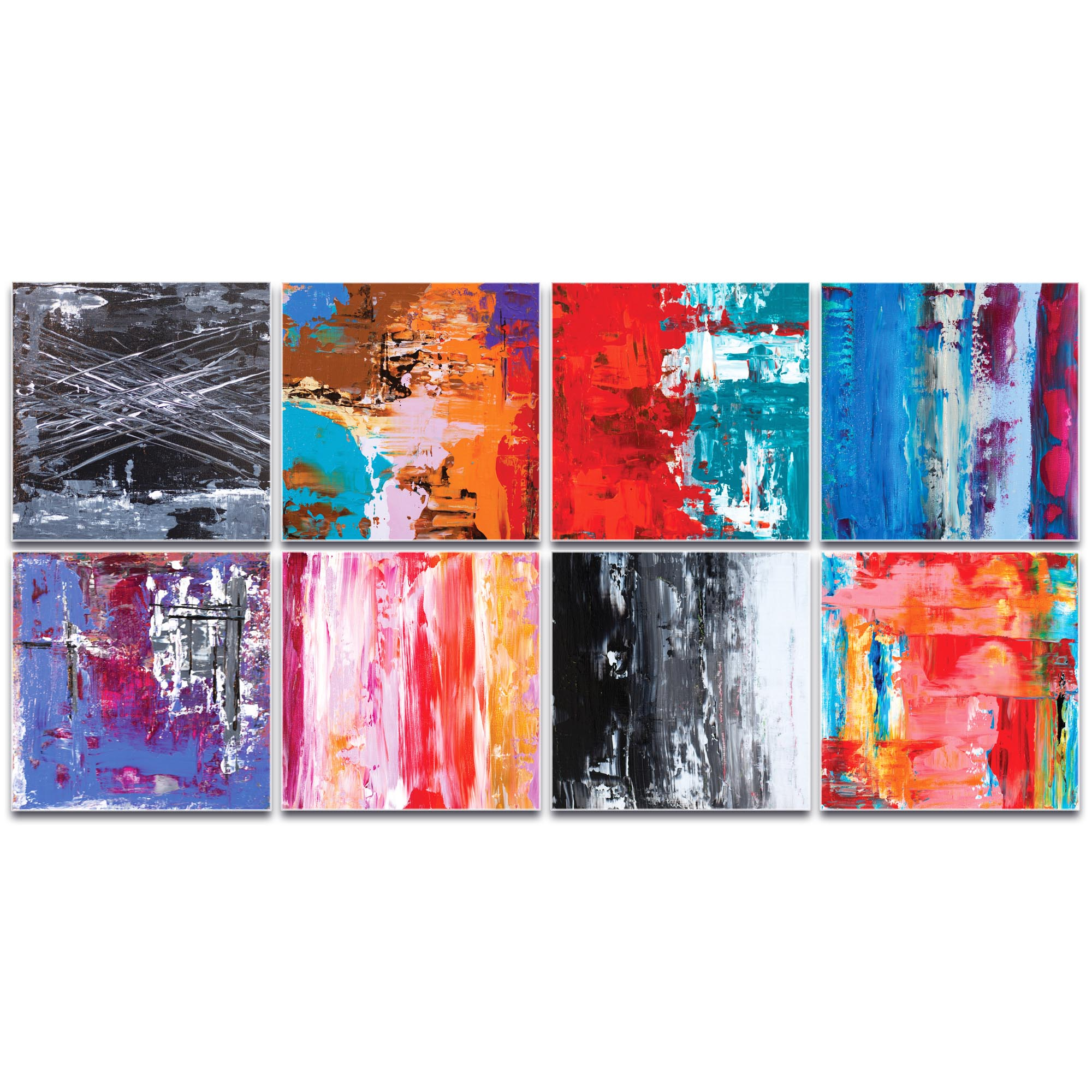 Abstract Wall Art 'Urban Windows Large' - Urban Decor on Metal or Plexiglass - Image 2