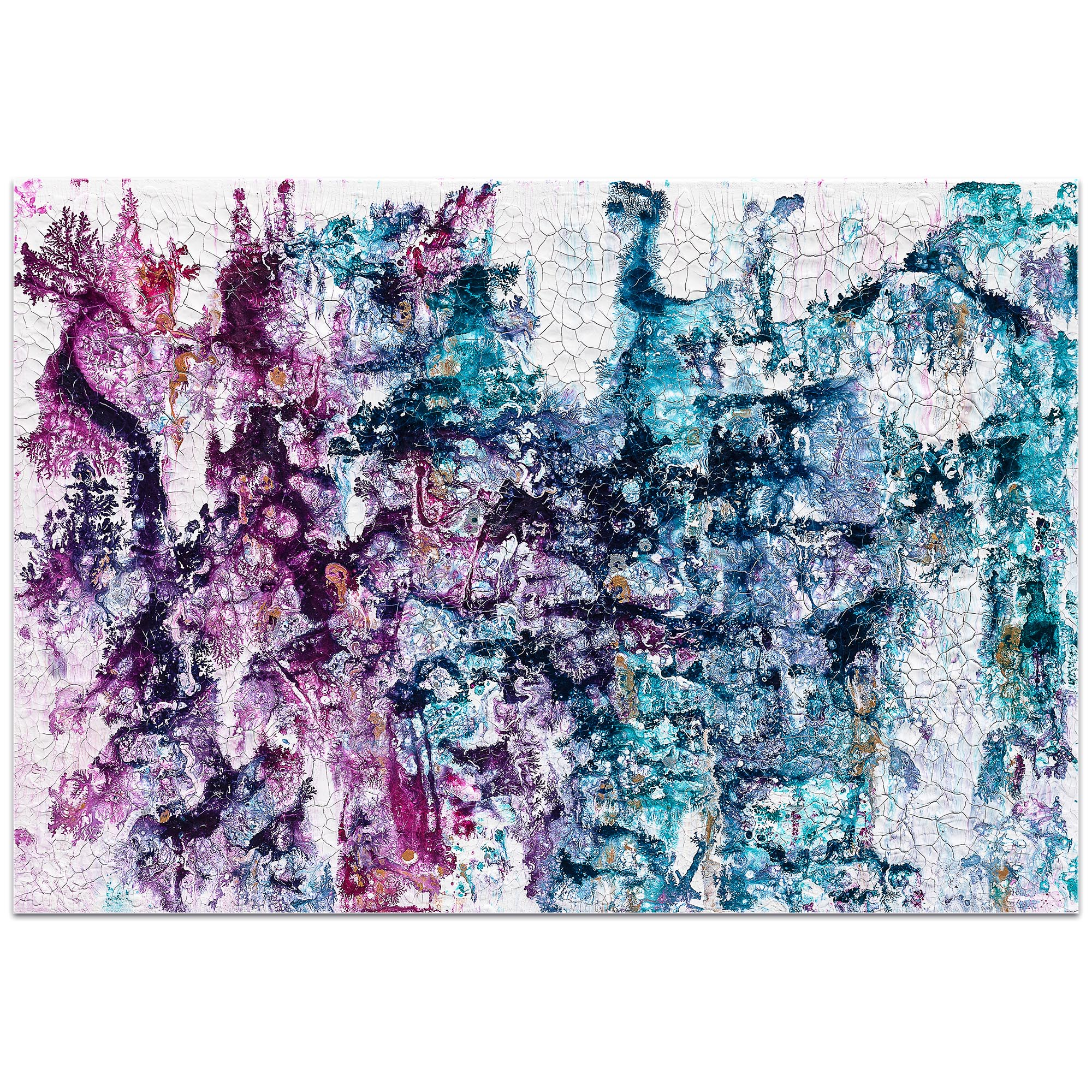 Abstract Wall Art 'Essence 1' - Colorful Urban Decor on Metal or Plexiglass - Image 2