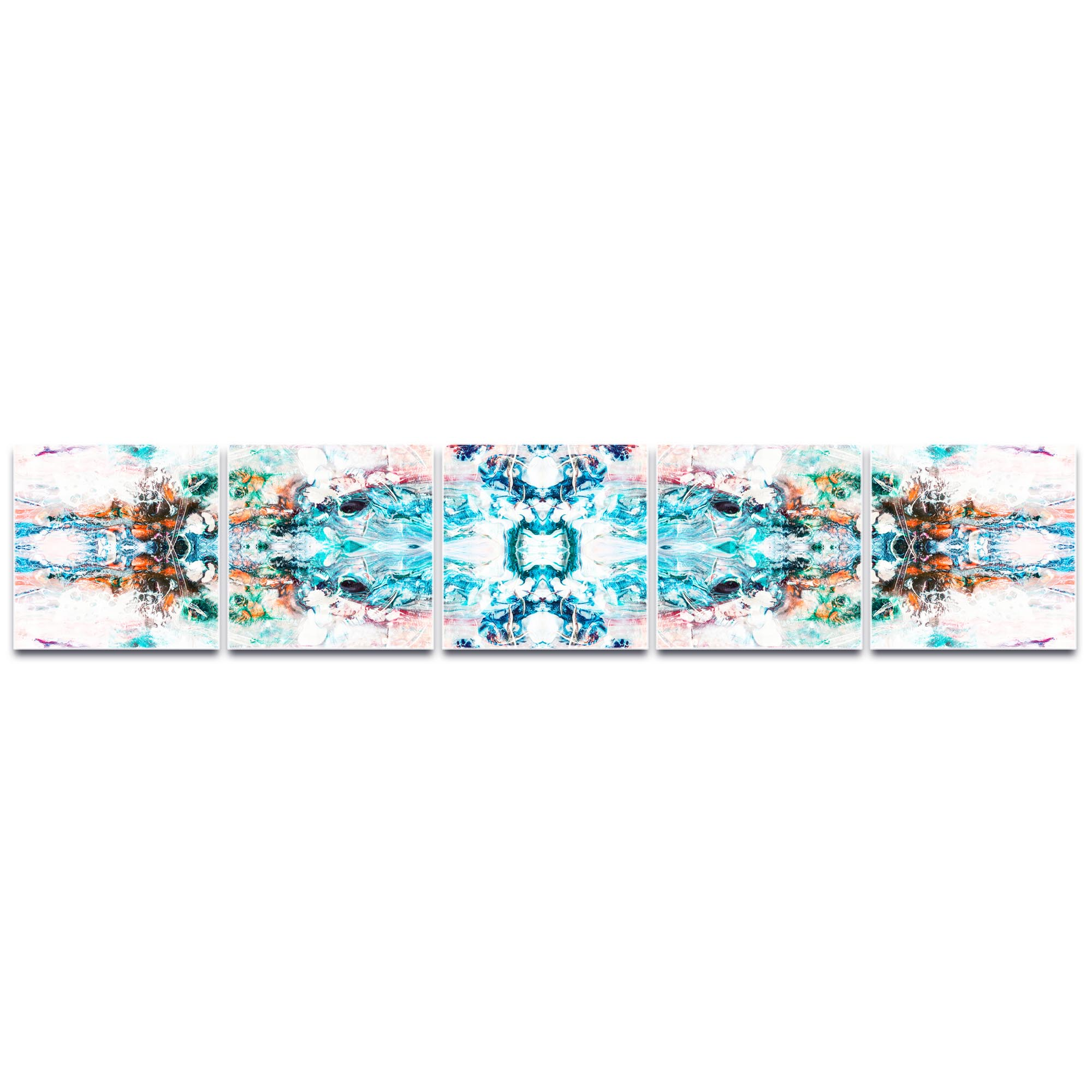 Abstract Wall Art 'Celestial' - Colorful Urban Decor on Metal or Plexiglass - Image 2