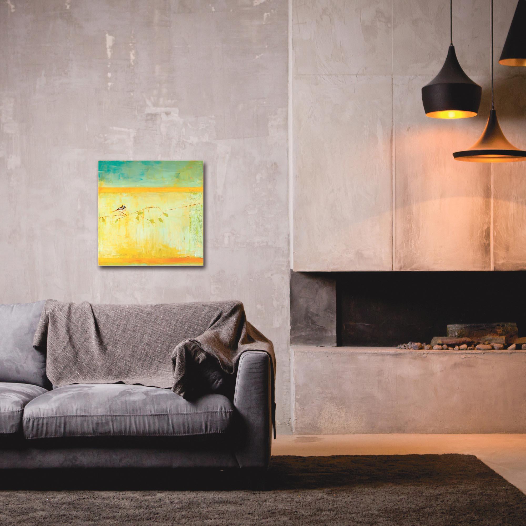 Contemporary Wall Art 'Bird with Horizontal Stripes' - Urban Birds Decor on Metal or Plexiglass - Image 3