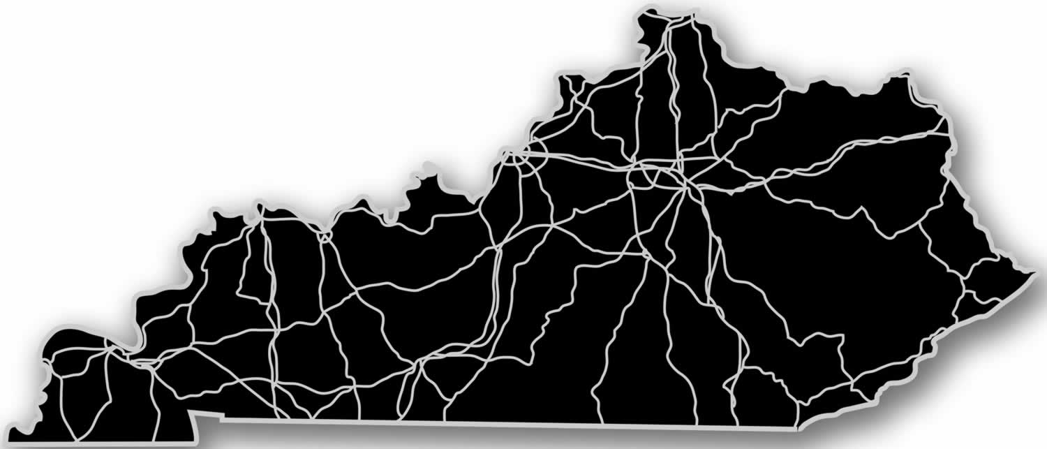 Modern Crowd Inc - Kentucky - Acrylic Cutout State Map #KY-BK on ky topographic map, ky area map, louisville ky city limits map, ky region map, ky town map, ky highway map, ky border map, ky county map, ky school district map, ky road maps driving directions, kentucky map, illinois map, i-64 mile marker map, ky co map, ky phone map, ky fish and wildlife map, lexington ky map, ky tennessee map, ky parks and maps, ky airport map,
