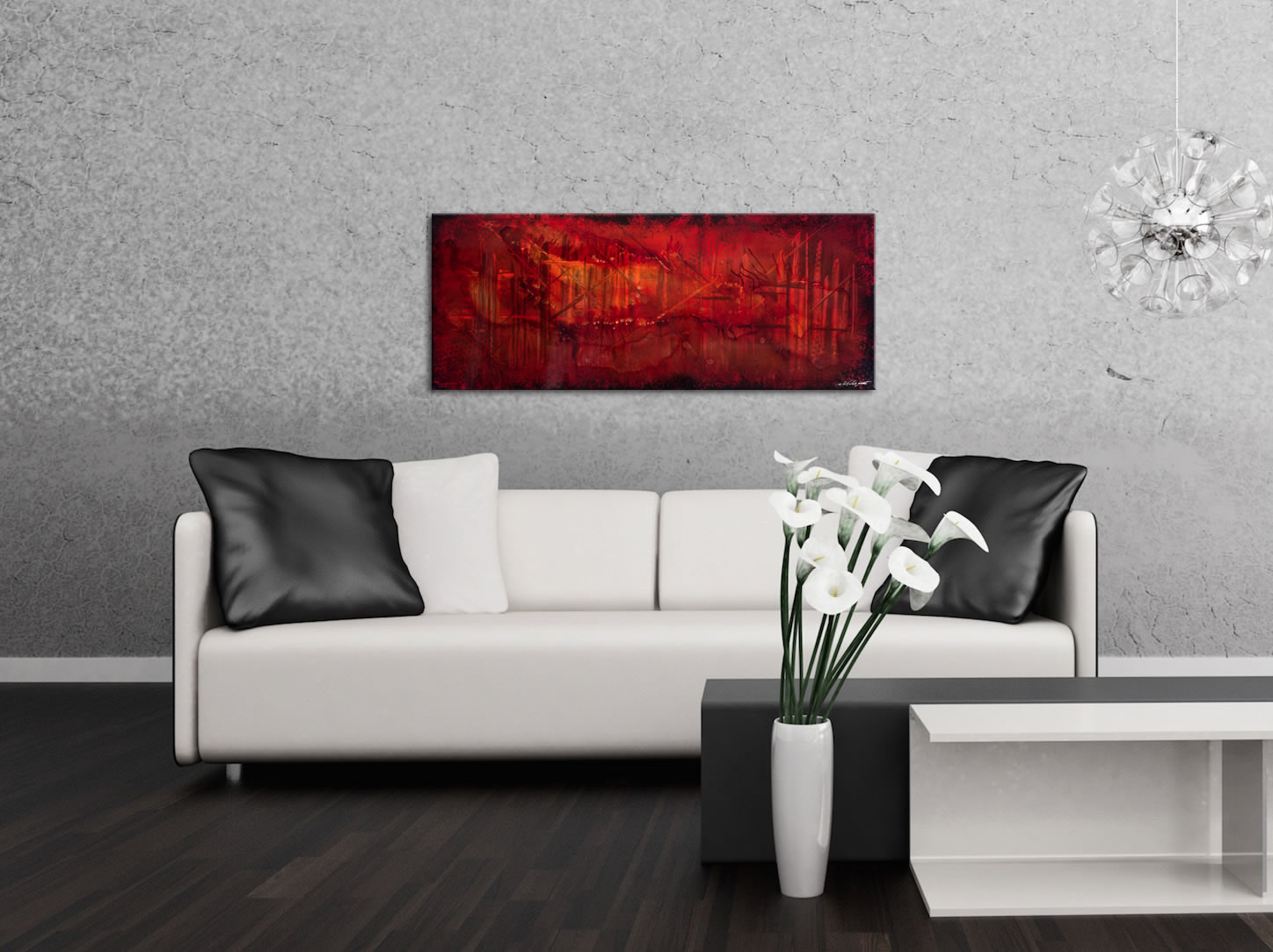 Dreamscape - Contemporary Metal Wall Art - Lifestyle Image