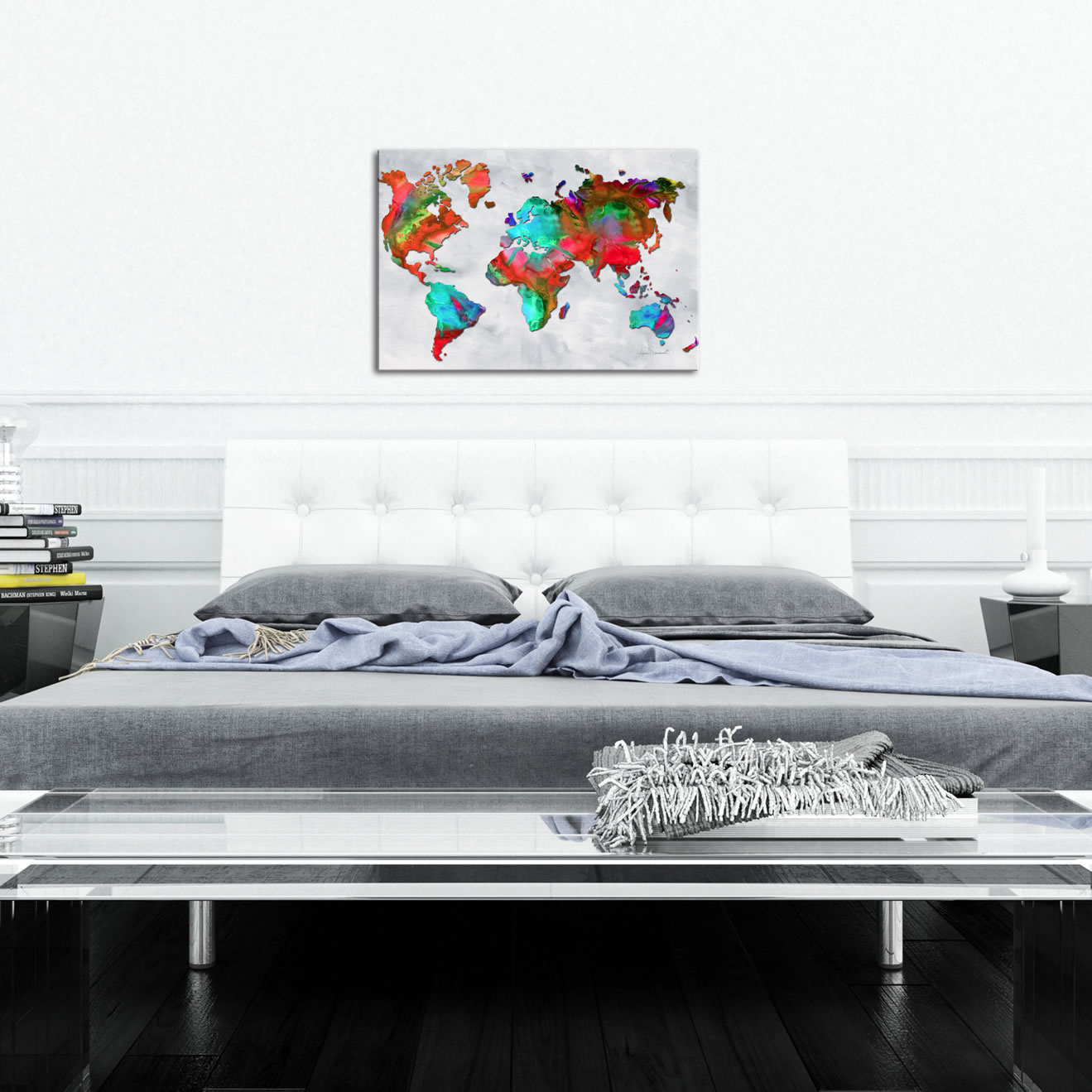 The Beauty of Color v2.5 - Abstract Painting Print by Megan Duncanson - Lifestyle Image