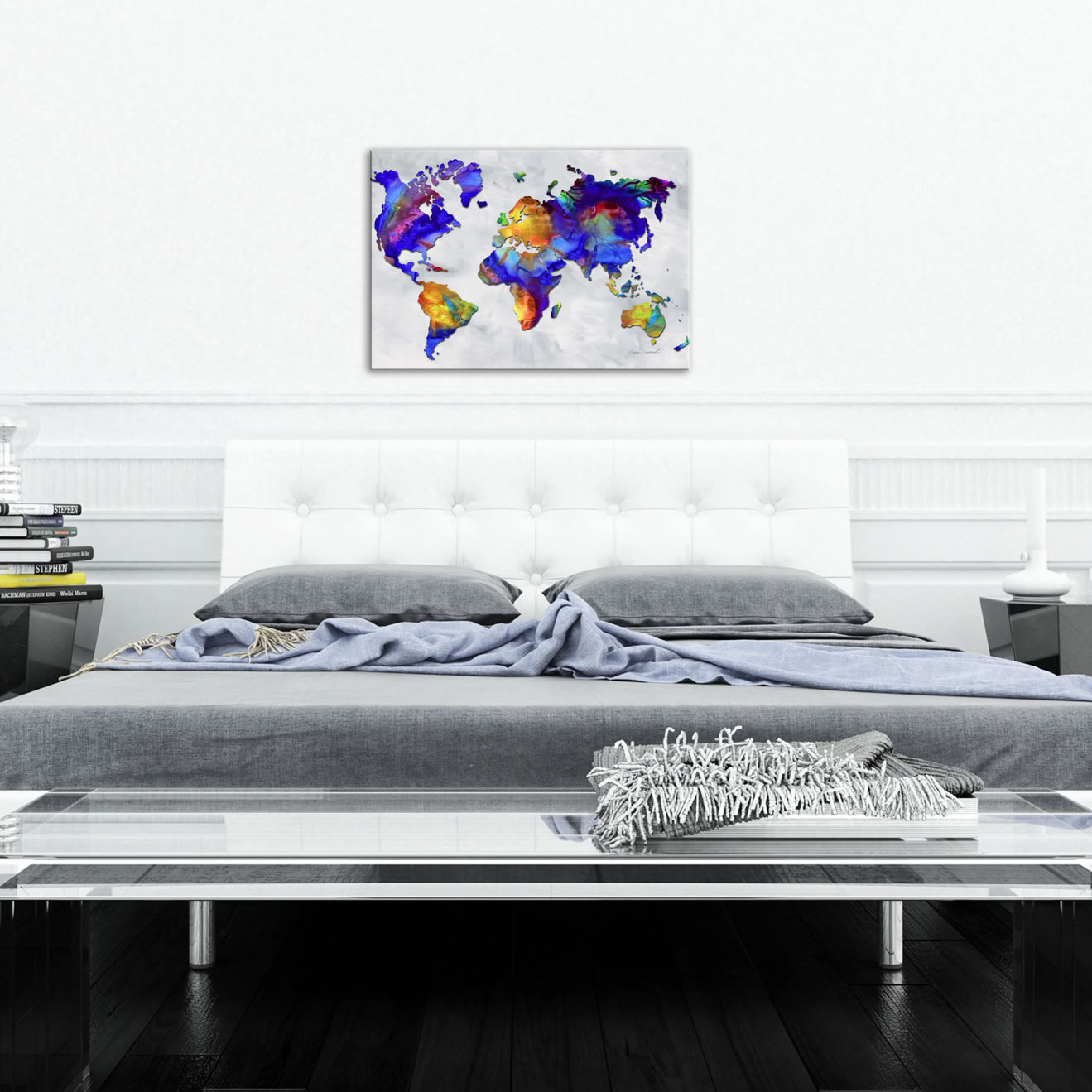 The Beauty of Color v2.4 - Abstract Painting Print by Megan Duncanson - Lifestyle Image