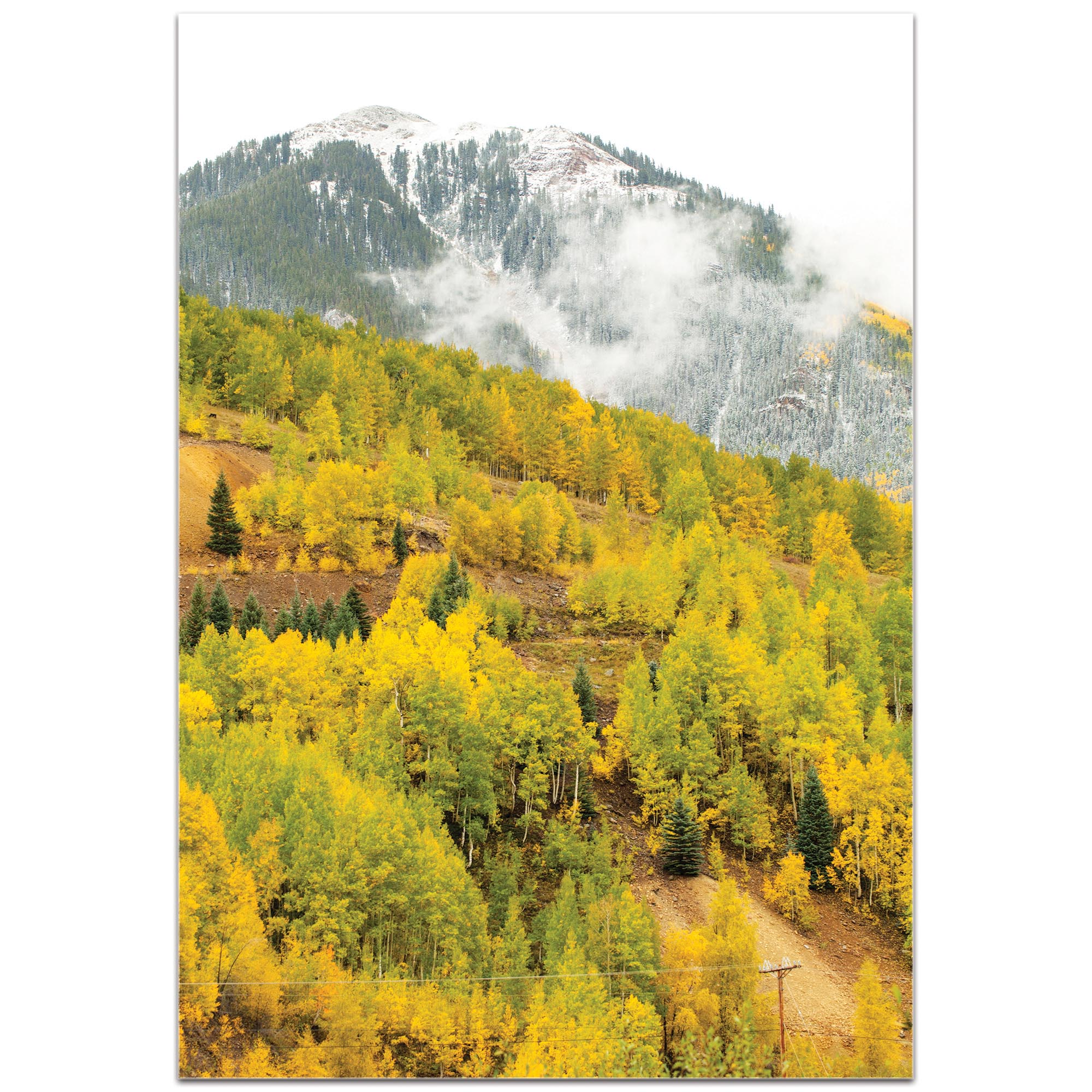 Landscape Photography 'Changing Season' - Autumn Nature Art on Metal or Plexiglass - Image 2