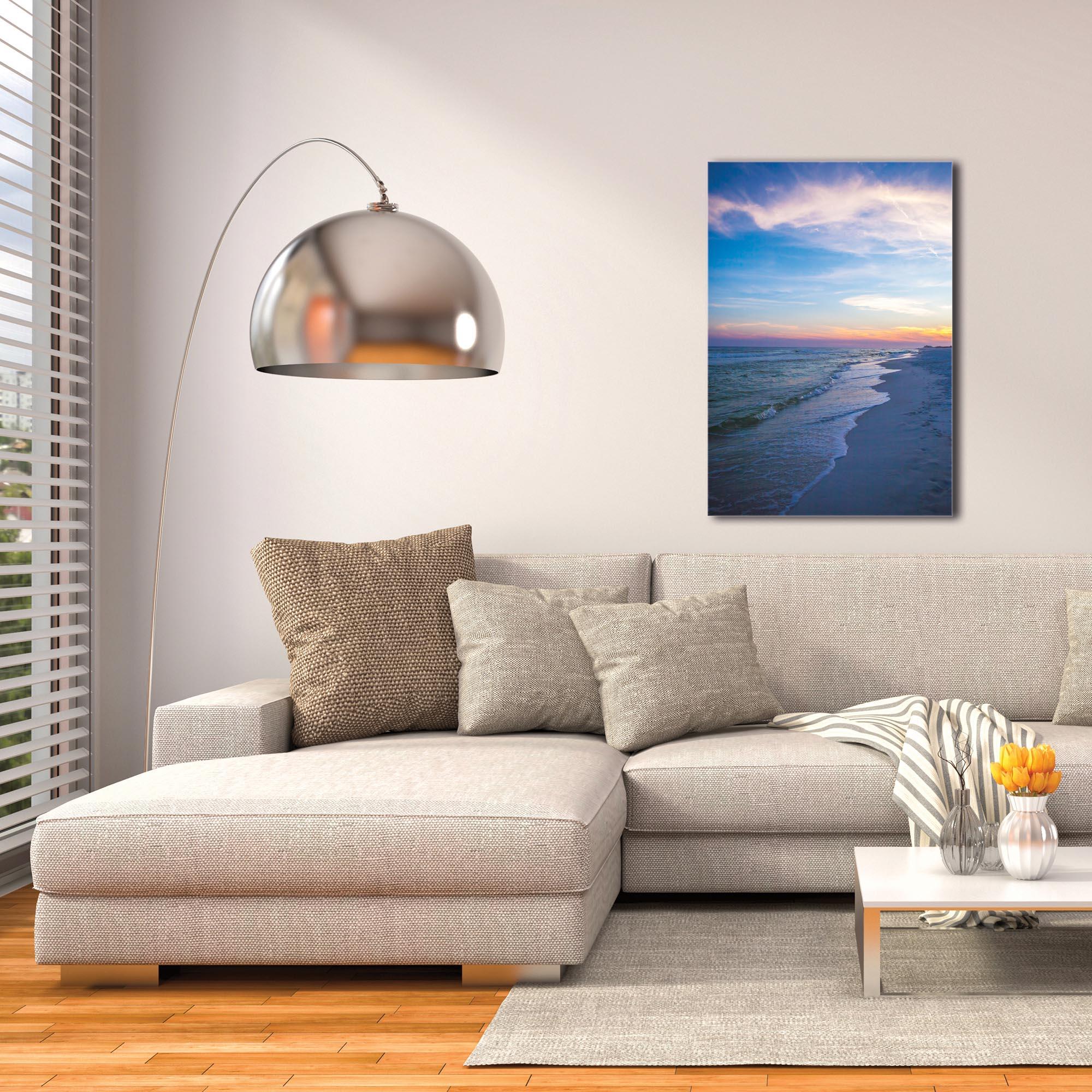 Coastal Wall Art 'Sunset Shores' - Romantic Sunset Decor on Metal or Plexiglass - Image 3