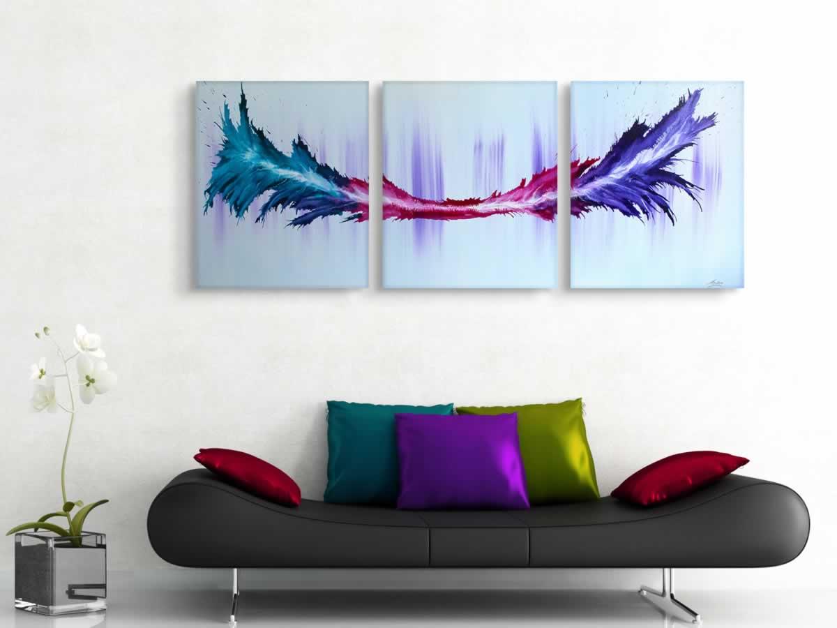 Energy  - Original Canvas Art - Lifestyle Image