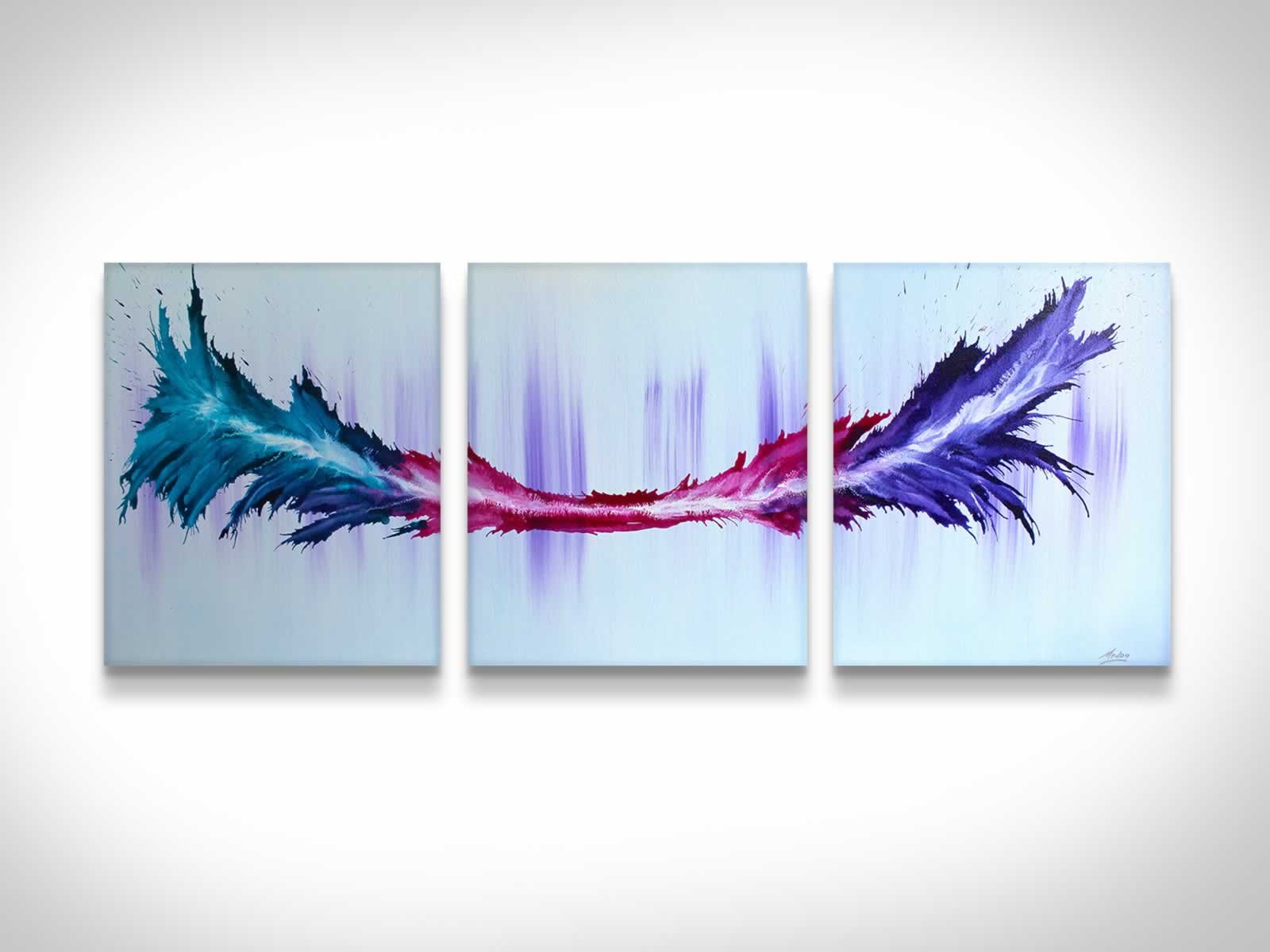 Energy  - Original Canvas Art