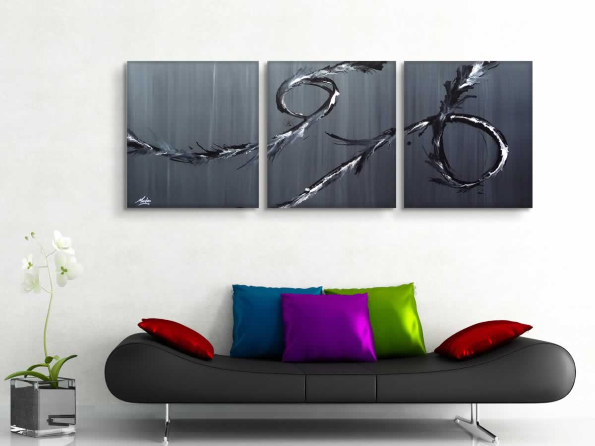 Whispers  - Original Canvas Art - Lifestyle Image