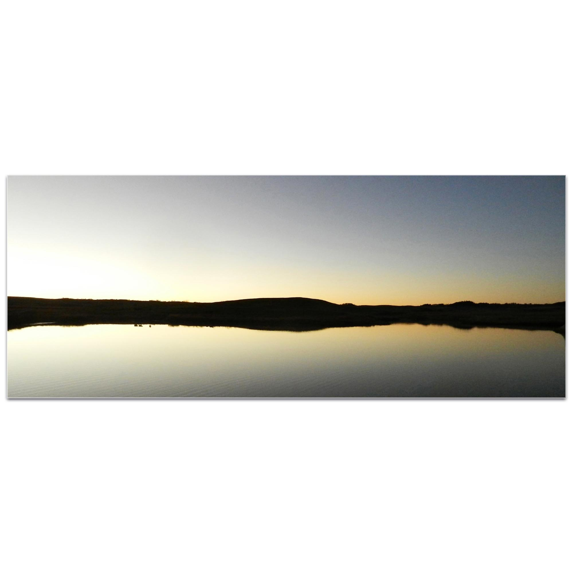 Western Wall Art 'Lakeside Sunset' - American West Decor on Metal or Plexiglass - Image 2