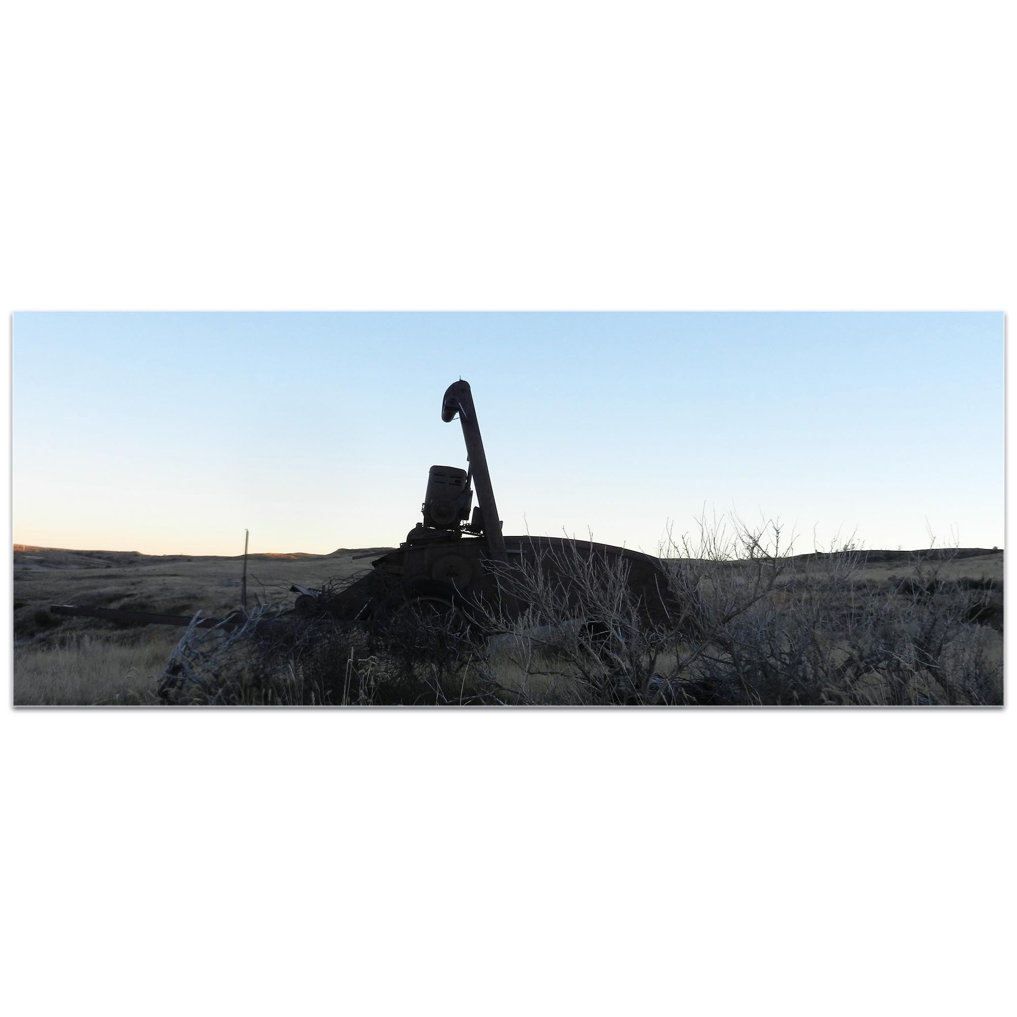 Western Wall Art 'Tractor Sunrise' - American West Decor on Metal or Plexiglass - Image 2