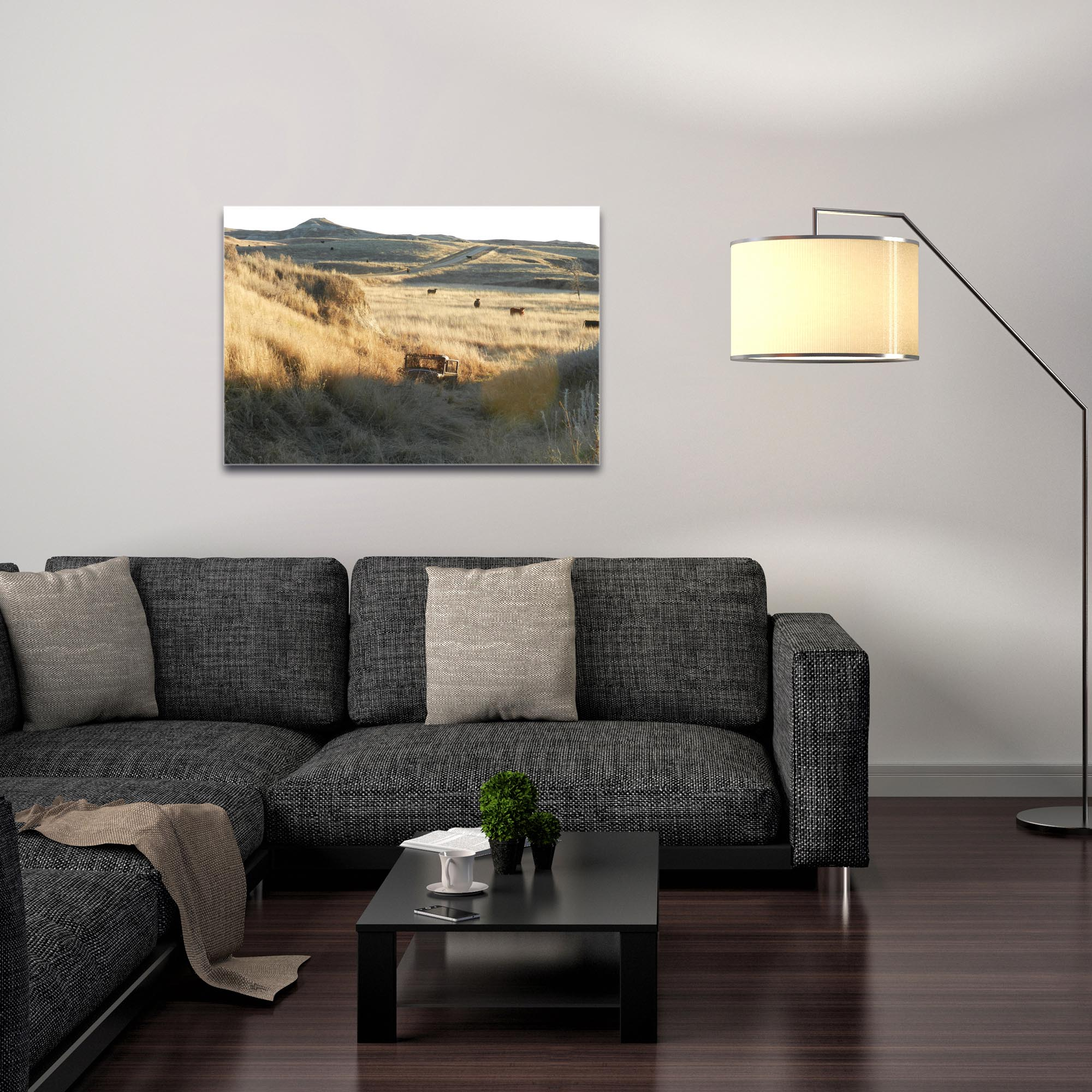 Western Wall Art 'Out West' - American West Decor on Metal or Plexiglass - Image 3