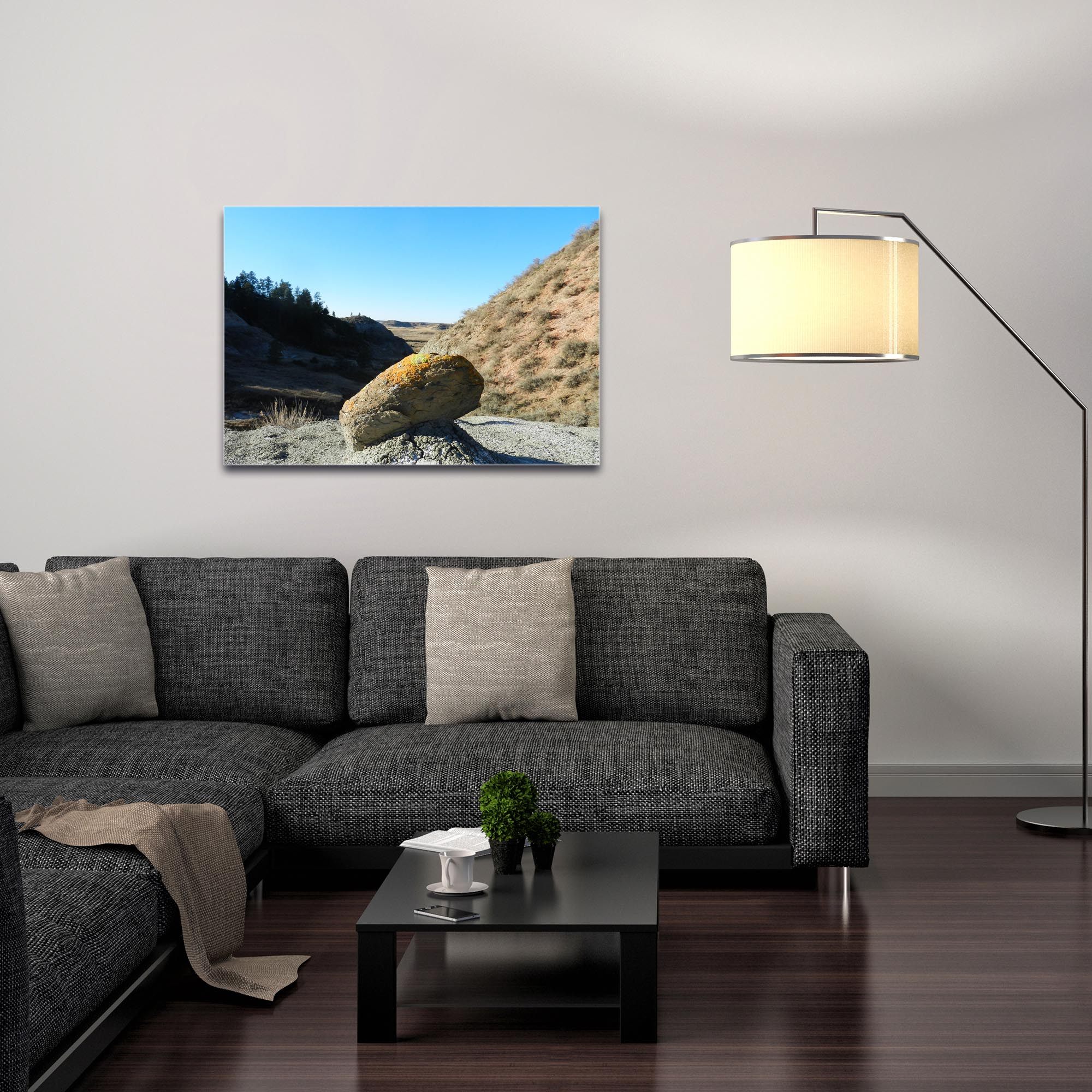 Western Wall Art 'The Rock' - American West Decor on Metal or Plexiglass - Image 3