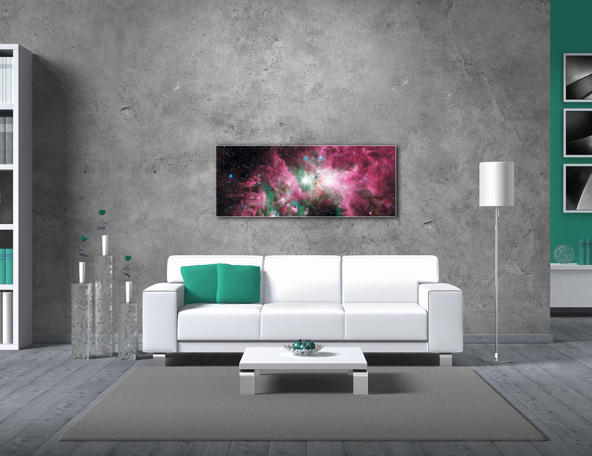 Carina Nebula - Modern Wall Decor - Lifestyle Image