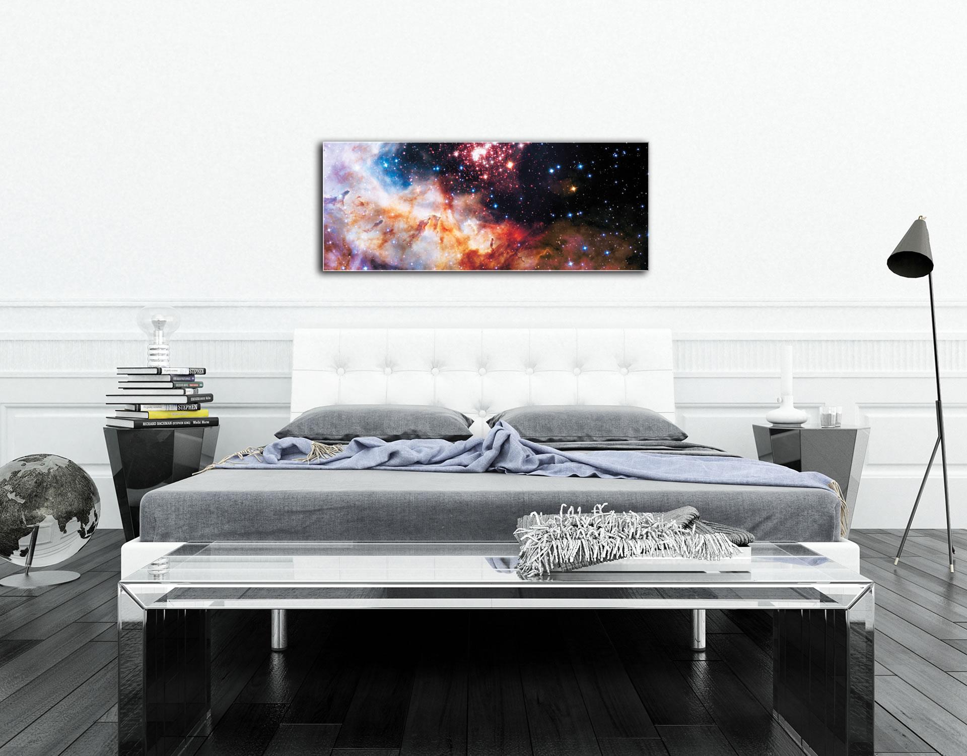 Celestial Fireworks - Modern Wall Decor - Lifestyle Image