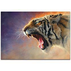 Expressionist Wall Art Fear Me - Wildlife Decor on Metal or Plexiglass