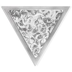 Helena Martin Twirled Angle 15in x 13in Modern Metal Art on Ground Metal