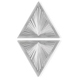 Shining Diamond by Helena Martin - Modern Metal Art on Ground Metal