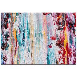 Abstract Wall Art Cracks 1 - Urban Decor on Metal or Plexiglass