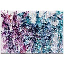 Abstract Wall Art Essence 1 - Colorful Urban Decor on Metal or Plexiglass