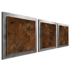 Earth Essence - Layered Modern Metal Wall Art