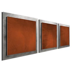 Rusty Essence - Layered Modern Metal Wall Art