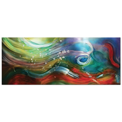 Esne Composition - Colorful Abstract Water Art