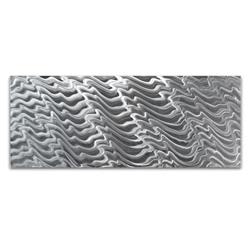 Polar Encapsulation Composition - HD Metal Art Photo Print