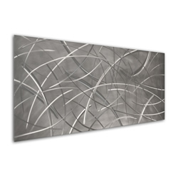 Tenuous Composition - Modern Metal Wall Art