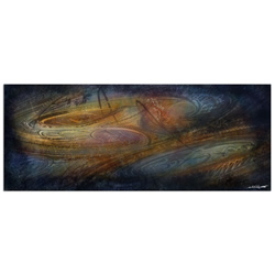 Northern Lights - Contemporary Metal Wall Art
