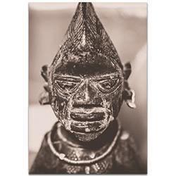 Eclectic Wall Art Voodoo Statue - Religion Decor on Metal or Plexiglass