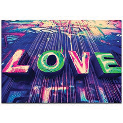 Eclectic Wall Art Urban Love - New Orleans Decor on Metal or Plexiglass