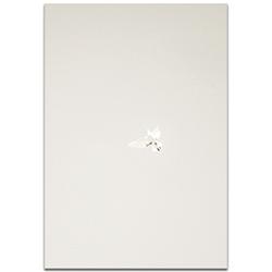 Minimalist Wall Art Flying Solo - Wildlife Decor on Metal or Plexiglass