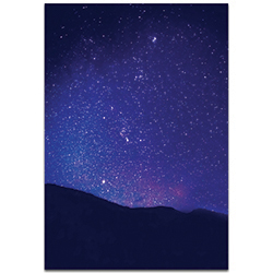 Nature Photography Satin Sky - Night Sky Art on Metal or Plexiglass