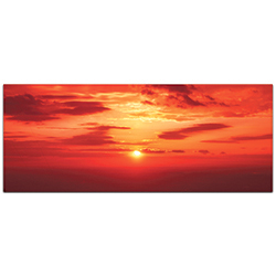 Landscape Photography Skies of Flame - Sunset Art on Metal or Plexiglass