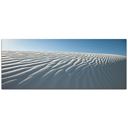 Landscape Photography Rippled Sand - Sand Dunes Art on Metal or Plexiglass